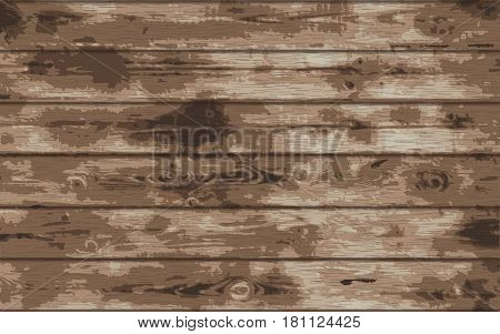 Wood grunge texture. Wooden plank background. Old panels. Vector Eps10 illustration.