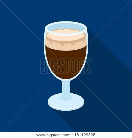 coffee.Different types of coffee single icon in flat style vector symbol stock illustration .