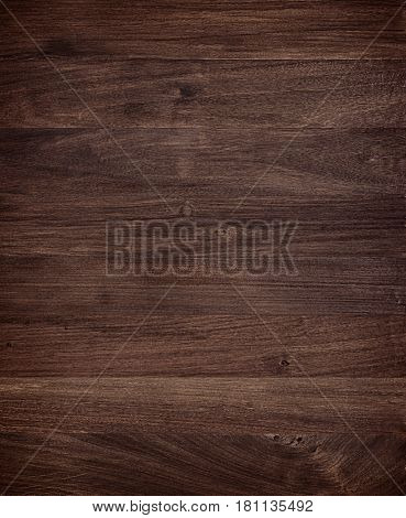 Dark brown wood Mahogany texture background