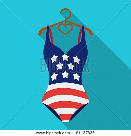 Stock Vector Flat Swimsuit Isolated Illustration Images ...