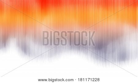 Aurora borealis 3d illustration on whote background