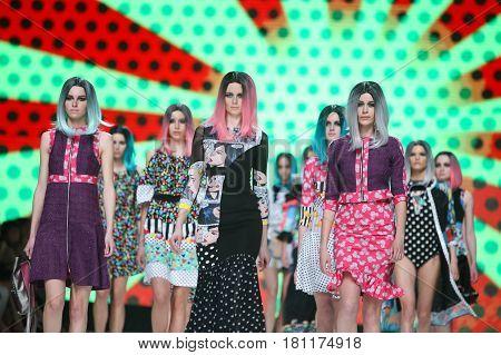 Bipa Fashion.hr Fashion Show 2017 : Zoran Aragovic, Zagreb, Croatia.