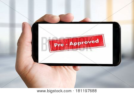 Pre-approved Choice Mark Selection Customize Status Option And Customs.