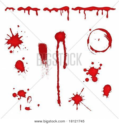 Blood Splatter - Vector