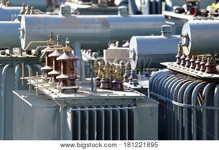 Discontinued Voltage Transformers In The Highly Polluting Materi