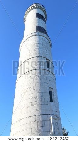 tallest lighthouse to signal to ships in the island of Murano near Venice in Italy