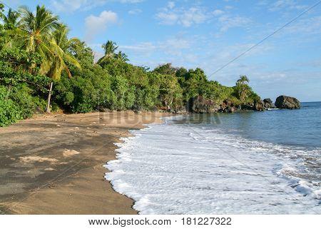 Virgen Boueni Beach Of Mayotte Island