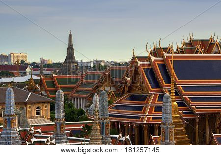Temple Of Dawn, Wat Arun, Bangkok, Thailand