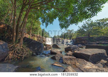 Hew Su Wat Waterfall Pak Chong District Nakhon Ratchasima Thailand