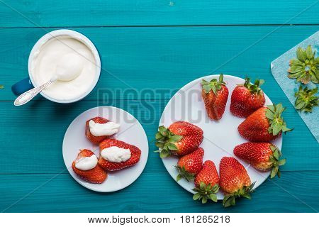 Group Of Strawberries