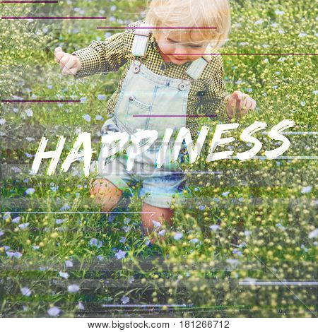 Happiness Delightful Smile Positivity Graphic Word