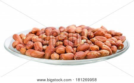 Heap Of Roasted Peanuts In A Saucer