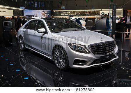 Mercedes Benz S500E Plug-in Hybrid Car
