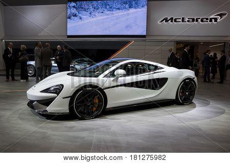 Mclaren 570S Sportscar