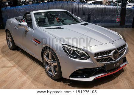 Mercedes Benz Slc 200 Cabriolet Car