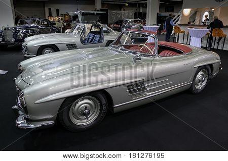 1957 Mercedes Benz 300 Sl Roadster W198 Vintage Car