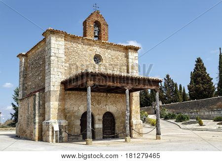 Berlanga de Duero Chapel of Our Lady of Solitude Soria Province Castile and Leon Spain