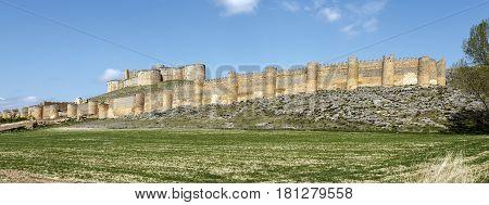 Berlanga de Duero Castle Soria Province Castile and Leon Spain