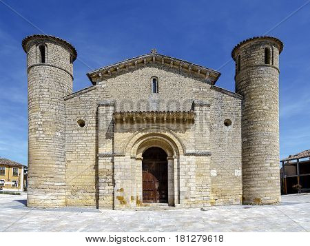 St. Martin Church in Romanesque style in Fromista Palencia Castilla y Leon Spain