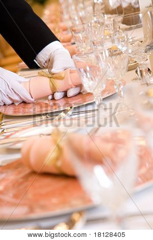 Table Seting For Wedding Reception