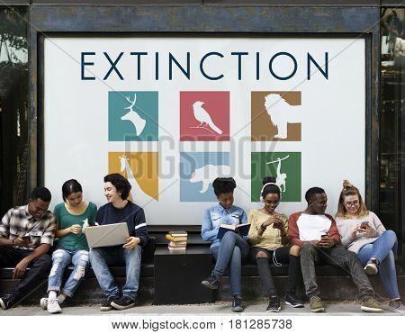 Extinction animal wildlife conservation environment