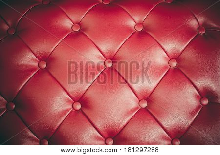 Some Red leather Luxury sofa backrest backgrounds