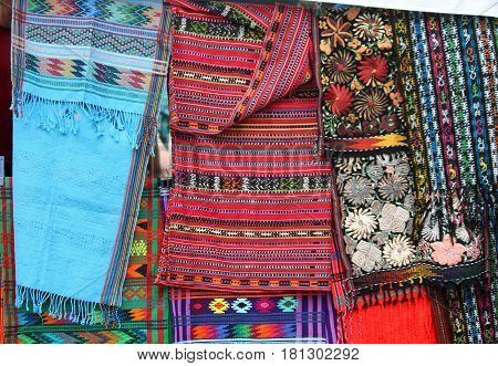 Tapestries for Sale at the Street Market