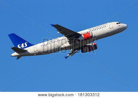 Sas Scandinavian Airlines Boeing 737Ng Aircraft