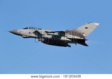 Raf Tornado Gr.4 Bomber Fighter Jet Airplane