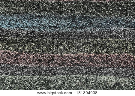 colored chalkboard abstract colorful background close up