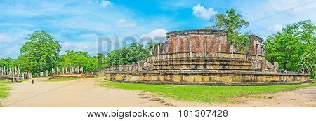 The Landmarks Of Polonnaruwa