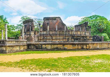 Archaeological Sites Of Sri Lanka
