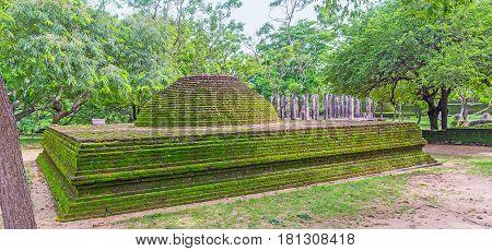 The Burial Dagaba