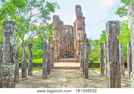 The View Through The Pillars