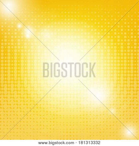 Sun Background With Blur