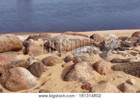Large-size Granite Rocky Beach