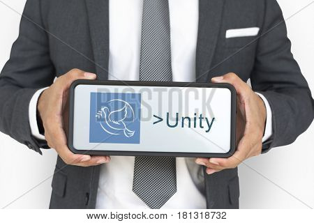 Friendship Unity Conformity Together Solidarity poster