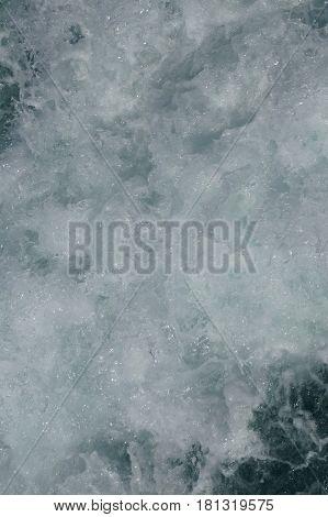 Sea water. Sea foam. Sea wave. Splashes of water.