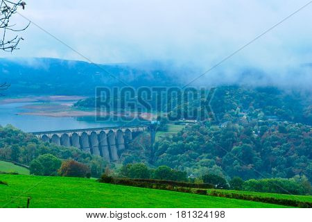 Lac (lake) De Panneciere In The Morvan Mountains