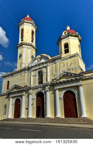 Our Lady of the Immaculate Conception Cathedral also called Cienfuegos Cathedral is the name given to a religious building is located opposite the Marti Park in the city of Cienfuegos.