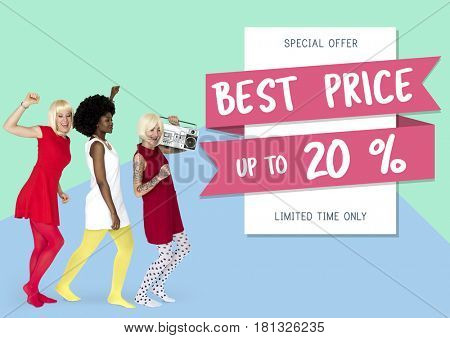 Special Offer Best Price Sale Promotion Campaign