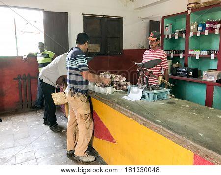 Store In Trinidad, Cuba