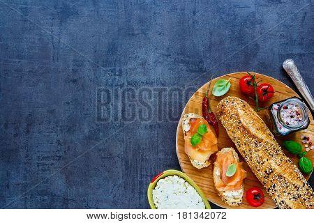 Delicious Salmon Sandwiches