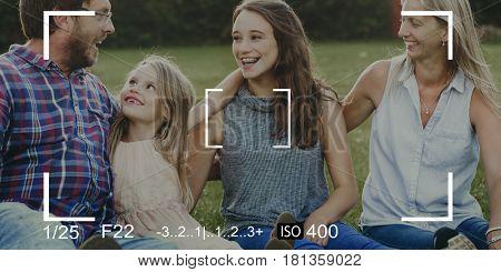 Family Camera Capture Snap Shot Banner