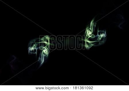 Smoke / Smoke is a collection of airborne solid and liquid particulates and gases emitted when a material undergoes combustion