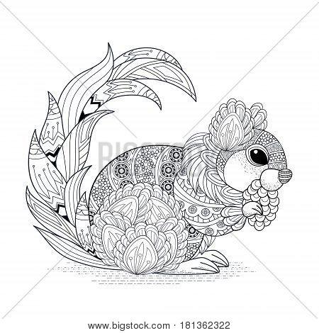 Lovely Squirrel Design