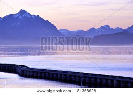 Nahuel Huapi Lake in Bariloche, Patagonia, Argentina