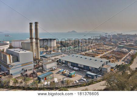 The Oil Depot At Nam Wan Tsing Yi