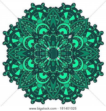 Mandala Ornament.