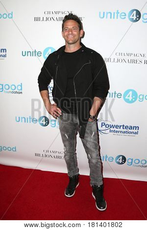LOS ANGELES - APR 7:  Jeff Timmons at the 4th Annual unite4:humanity Gala at the Beverly Wilshire Hotel on April 7, 2017 in Beverly Hills, CA